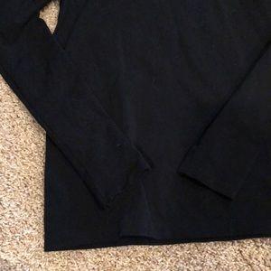 White House Black Market Tops - Black long sleeve shirt